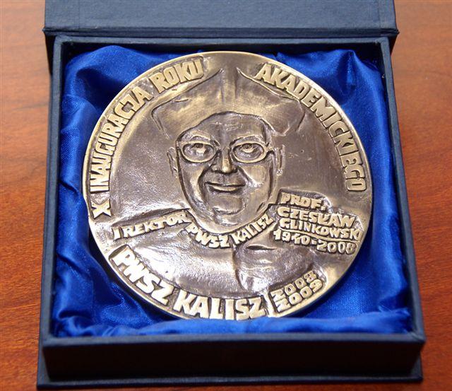 medal okolicznościowy - 10 inauguracja roku akademickiego