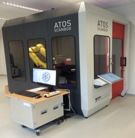 ATOS ScanBOX 5108, głowica skanująca ATOS III Triple Scan (GOM, Niemcy)
