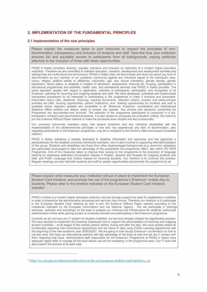 deklaracja polityki erasmus 2021-2027 strona 6