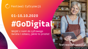 grafika - festiwal cyfryzacji 2020 rok