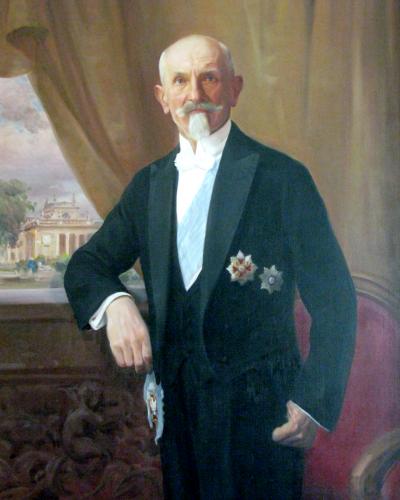 portret Stanisława Wojciechowskiego