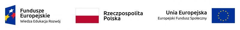 baner z logami funduszów europejskie, unia europejska, Rzeczpospolita Polska