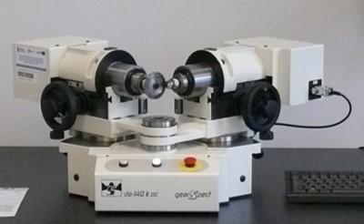 Urządzenia do badania współpracy jednostronnej kół zębatych (Gearspect, Czechy)