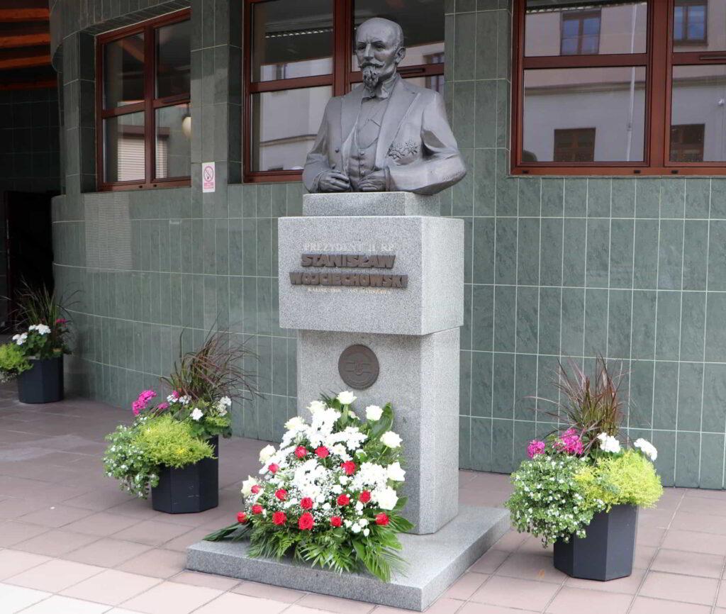 Prawnuczka patrona Akademii Kaliskiej odwiedziła uczelnię-3