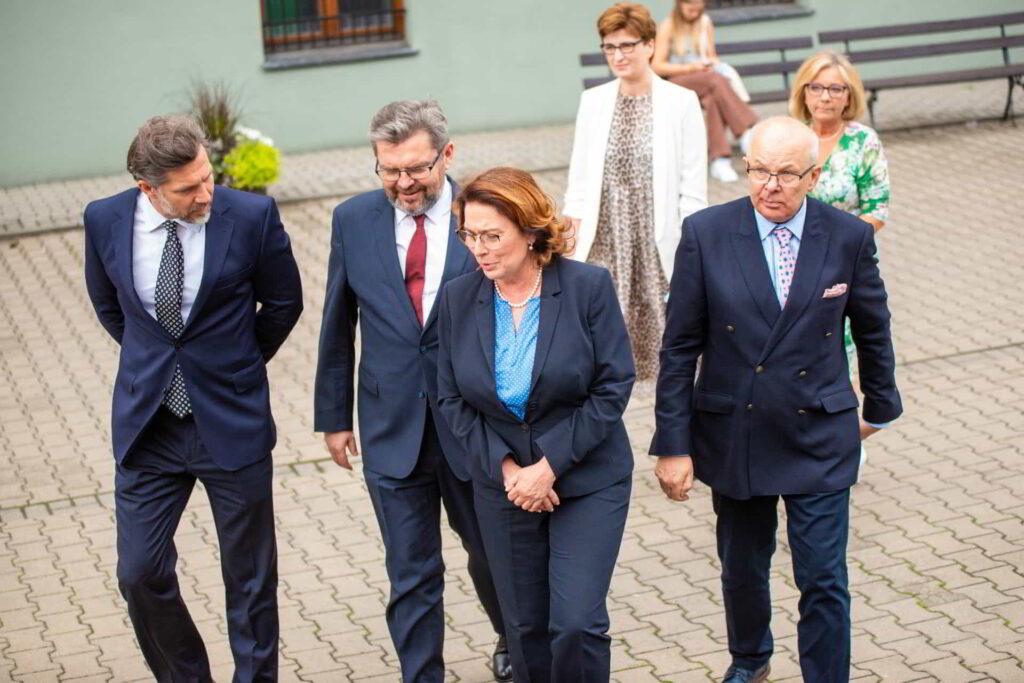 Prawnuczka patrona Akademii Kaliskiej odwiedziła uczelnię-4