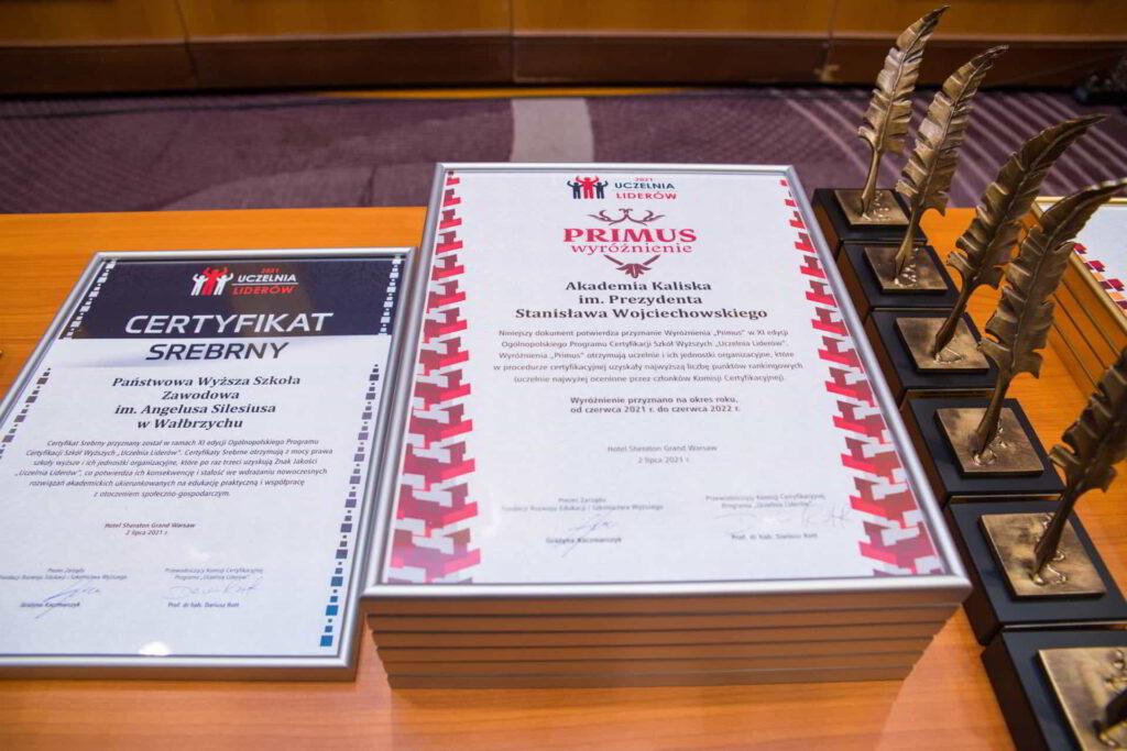 Akademia Kaliska Uczelnią Liderów 2021