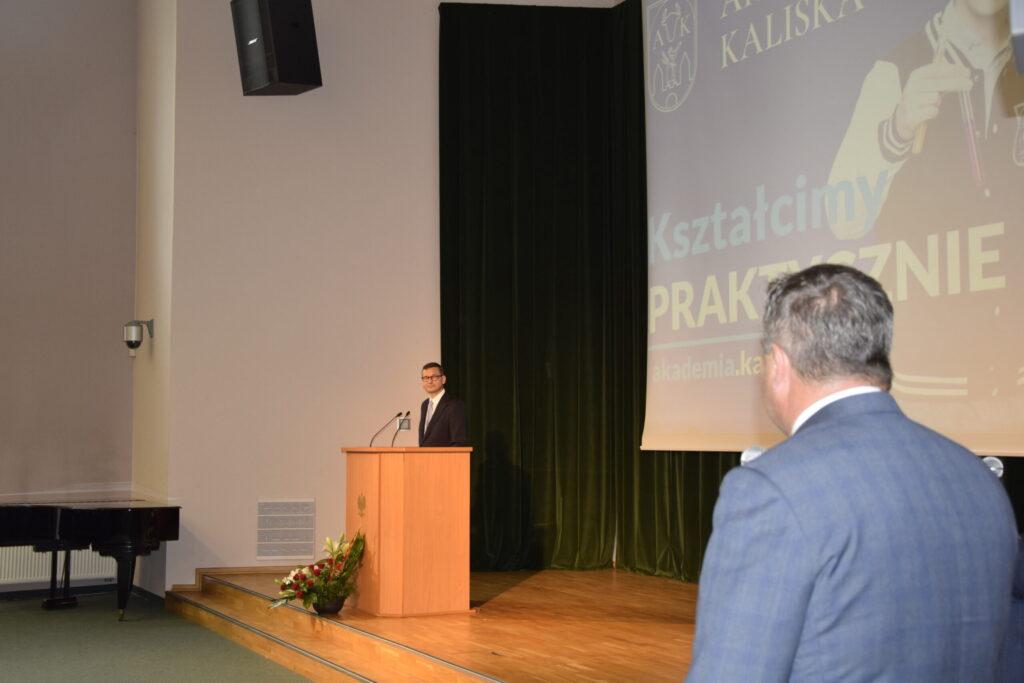 Premier w Akademii Kaliskiej-9