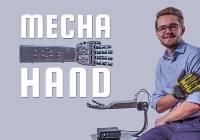 grafika mecha hand - biochemiczna ręka