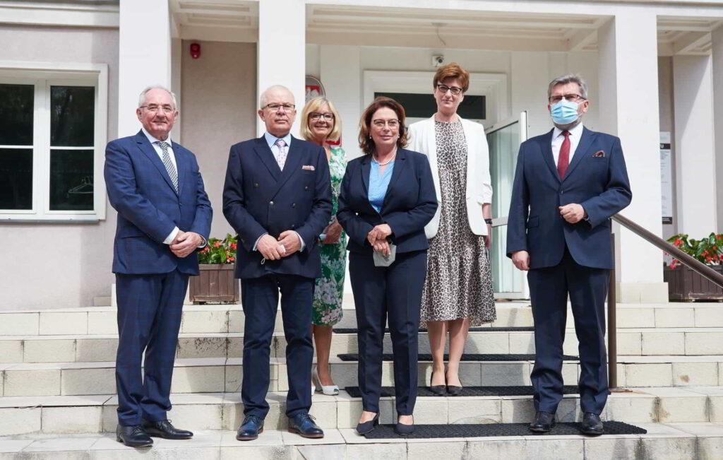 Prawnuczka patrona Akademii Kaliskiej odwiedziła uczelnię-10