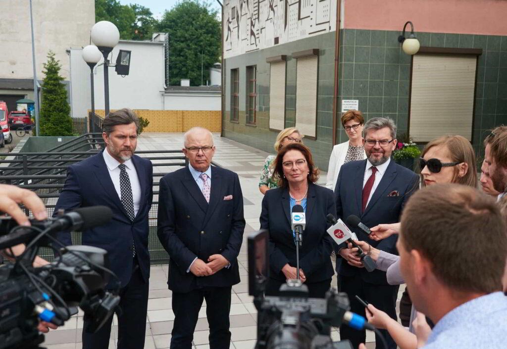 Prawnuczka patrona Akademii Kaliskiej odwiedziła uczelnię-11