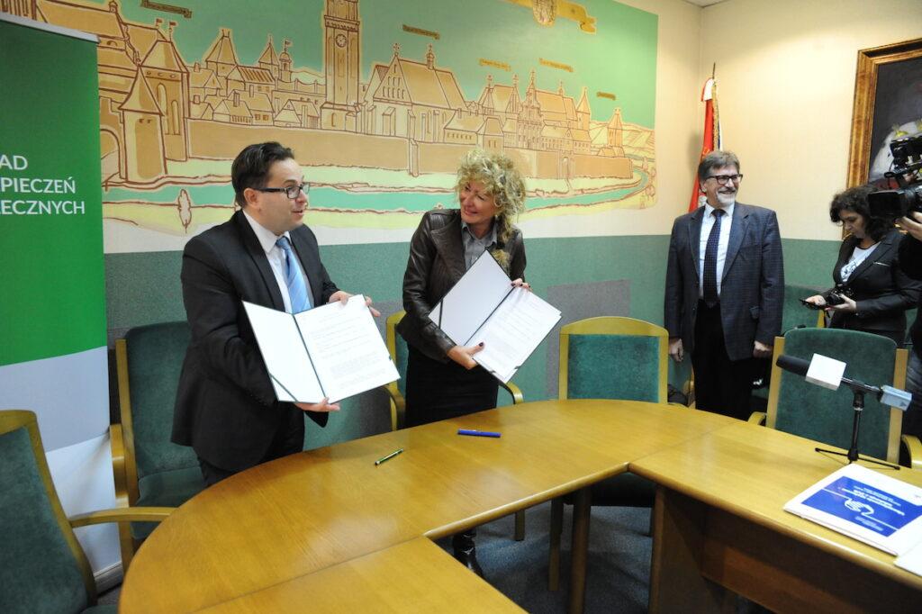 umowa o współpracę z ZUS