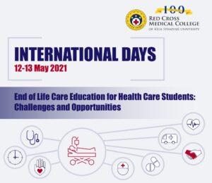 grafika informująca o international days w rydze