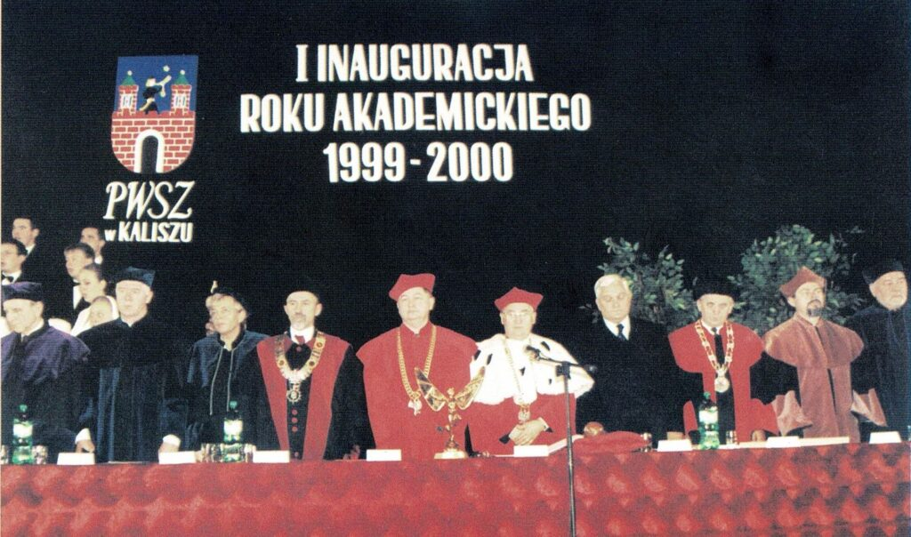 inauguracja roku akademickiego 1999/2000