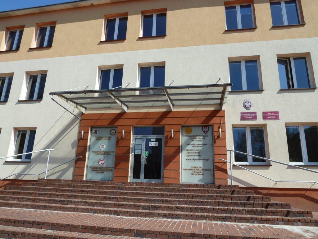 budynek filii uczelni we Wrześni
