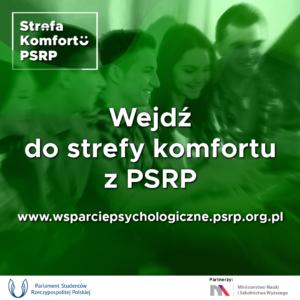 strefa komfortu PSRP grafika