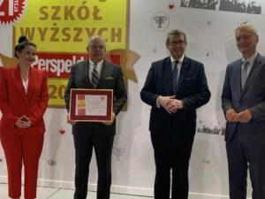 """Sukcesy PWSZ w rankingu ,,Perspektyw""""-2"""