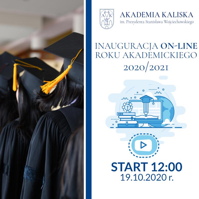 Inauguracja roku akademickiego 2020/2021 - grafika