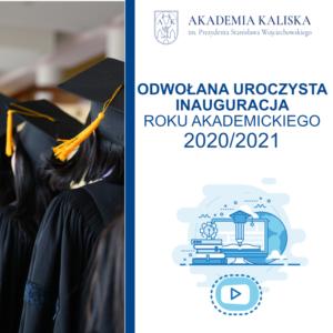 Odwołana Inauguracja roku akademickiego 2020/2021 - grafika