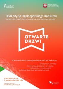 XVII edycja Konkursu Otwarte drzwi-plakat