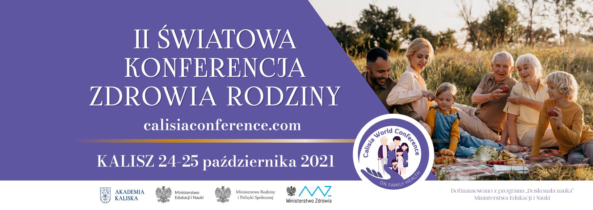 baner II światowa konferencja zdrowia i rodziny
